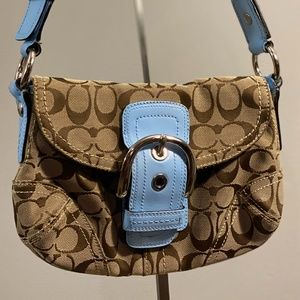 Coach Bags - Coach Custom Signature Soho Hobo Bag